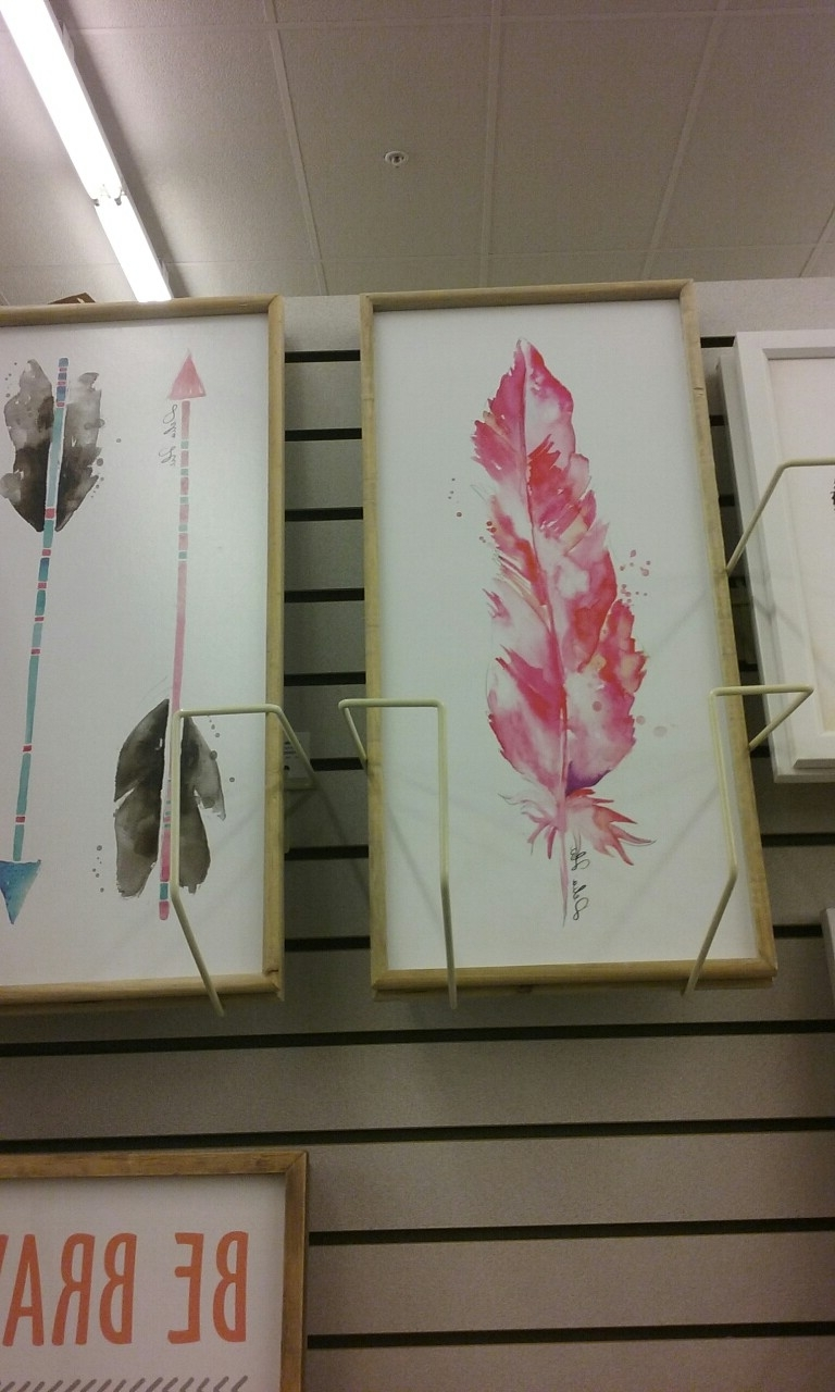 [%Water Colored Paintings,pink Feather U0026 Arrows/hobby Lobby 50%off.  Previous Photo Hobby Lobby Abstract Wall Art