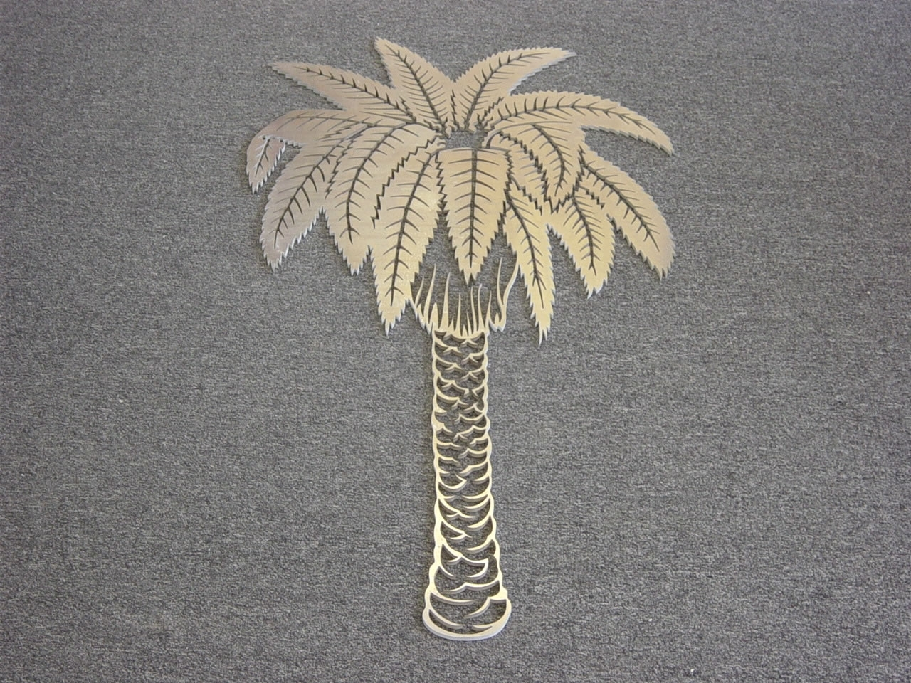 Waterjet Metal Art Ornamental / Aluminum Palm Tree, Waterjet Pertaining To Popular Palm Tree Metal Art (View 14 of 15)