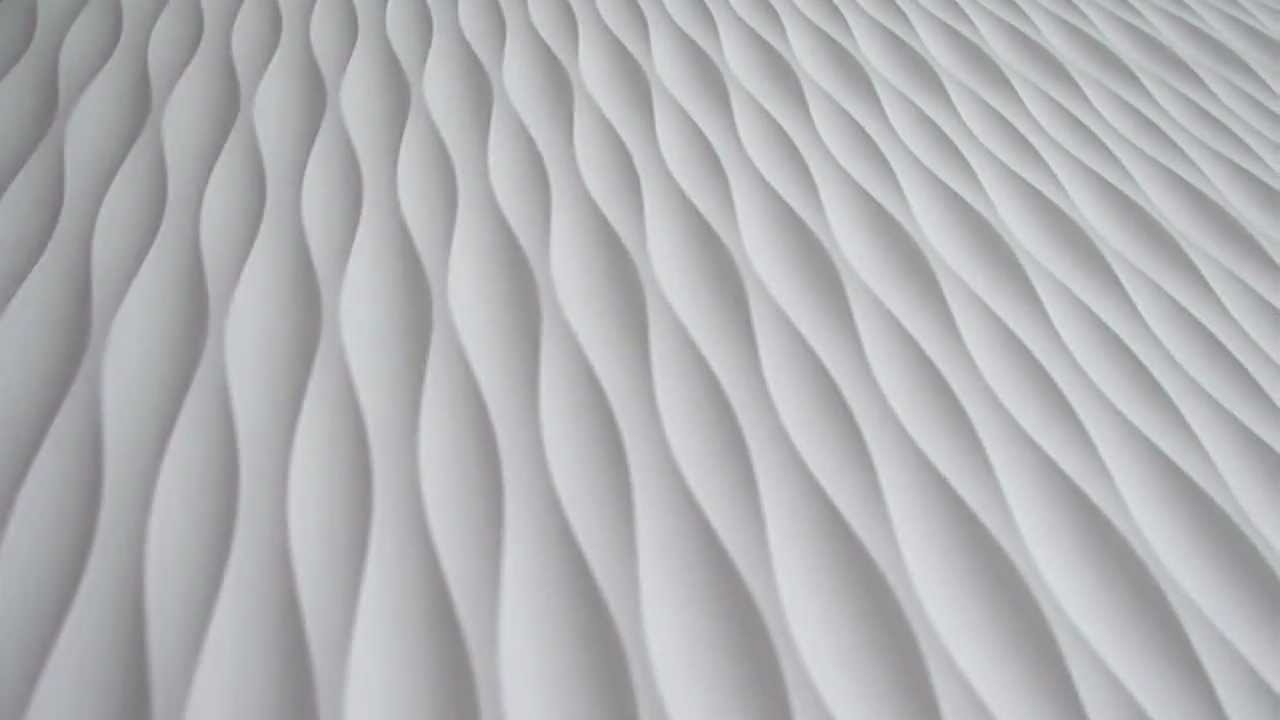 Waves 3D Wall Art Intended For Most Popular 2012 Qs Tides Wave Wall Panel – Youtube (View 13 of 15)