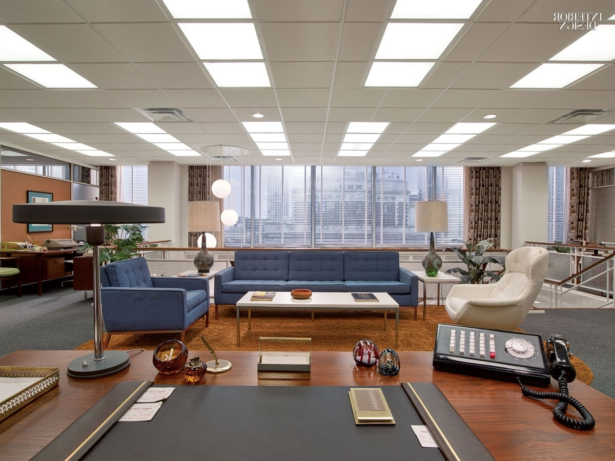 Welcome To 1969: Mad Men's Award Winning Set Design Intended For Well Known Mad Men Wall Art (View 11 of 15)