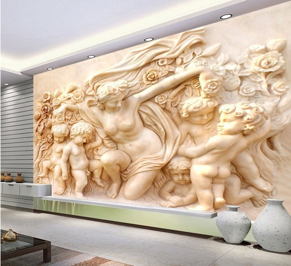 Well Known 25+ Cool 3d Wall Designs, Decor Ideas (View 4 of 15)