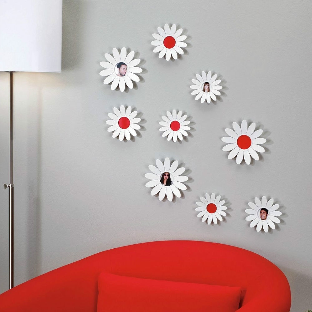 Well Known 3d Flower Wall Art Umbra (View 3 of 15)