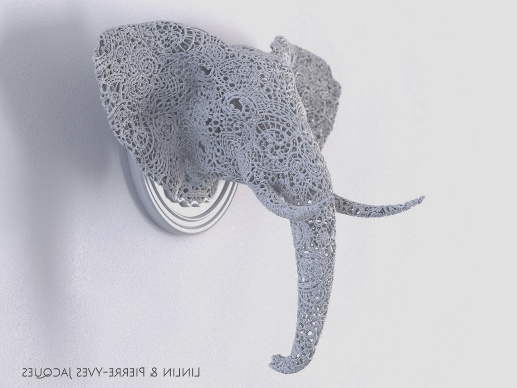 Well Known 3d Printed Wall Art Intended For Jocundist: Intricate 3d Print Sculptures (View 10 of 15)