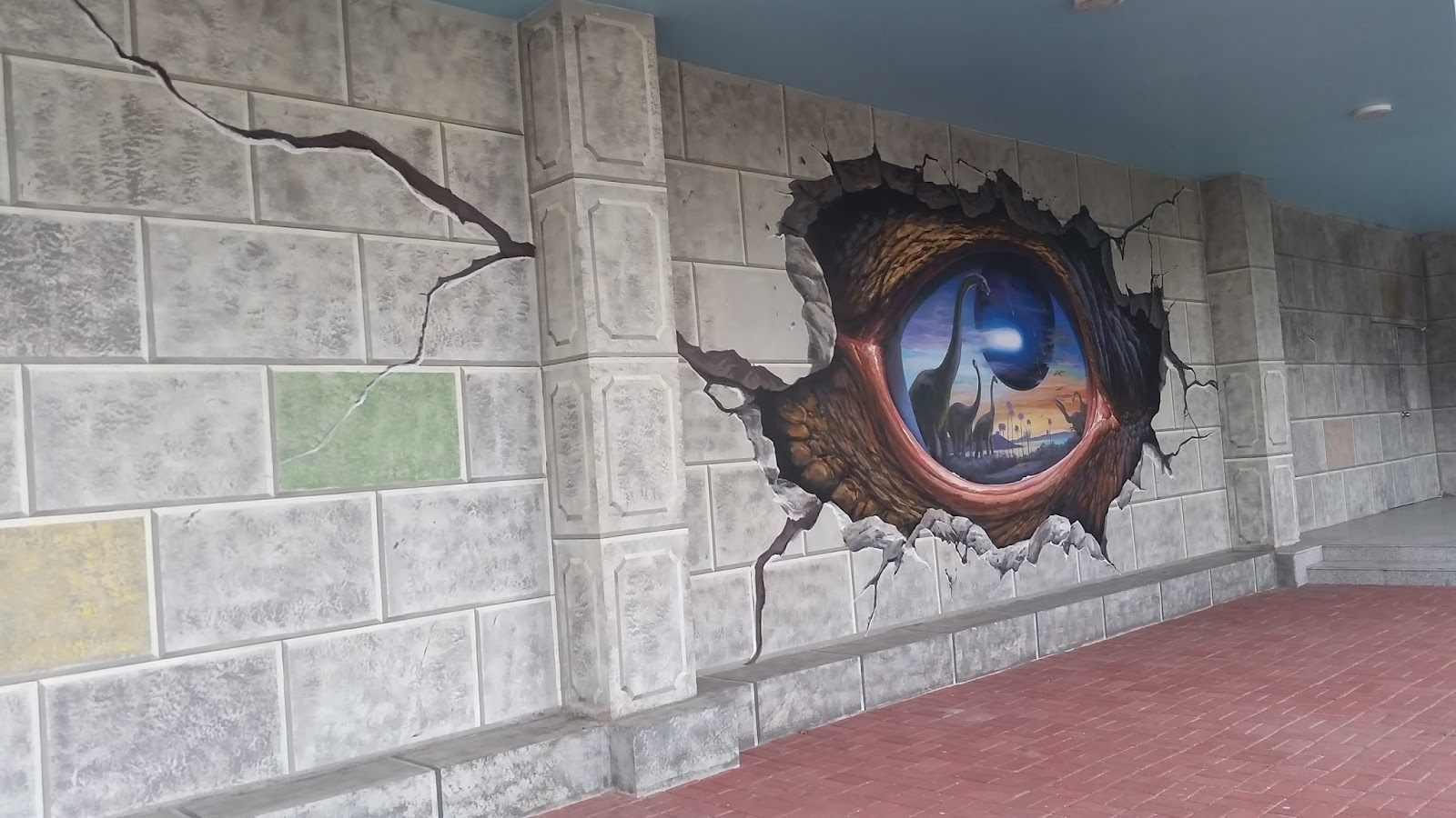Well Known 3D Wall Art Illusions In Finding Bonggamom: Art That's Educational And Fun: Art In Island (View 13 of 15)