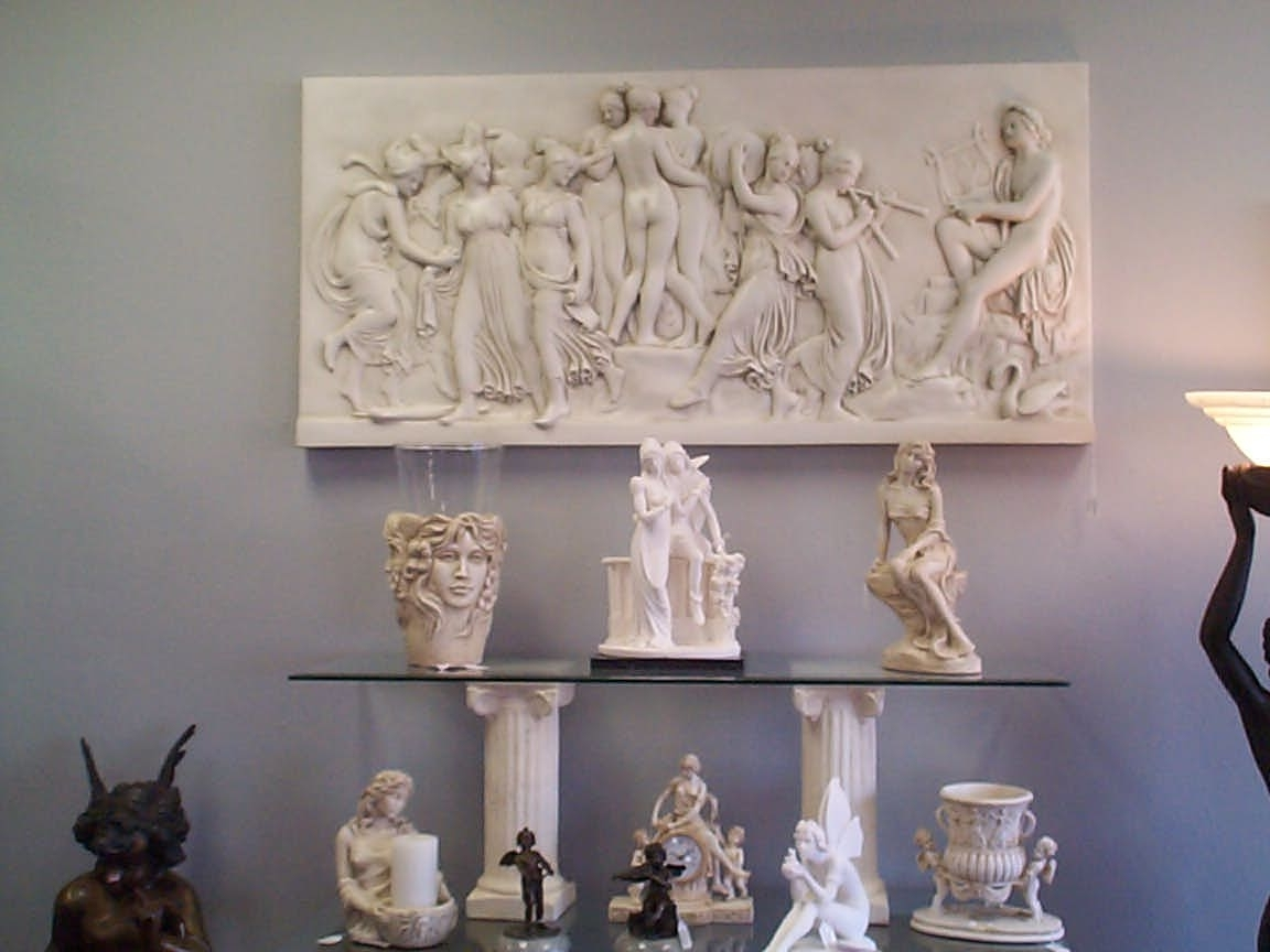 Well Known 3D Wall Sculptures For Greek Wall Art (View 13 of 15)