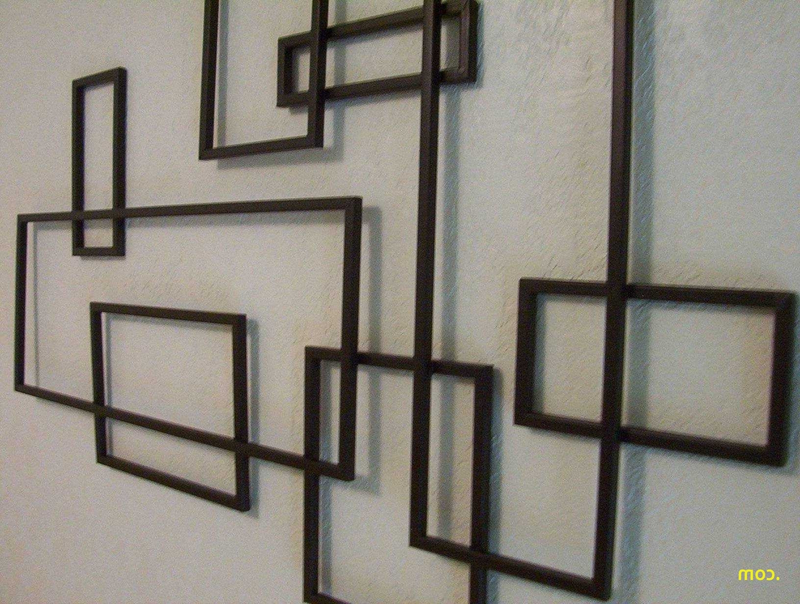 Well Known Abstract Geometric Metal Wall Art Throughout Furniture : Awesome Curved Metal Wall Art Fresh Modern Metal Wall (View 6 of 15)