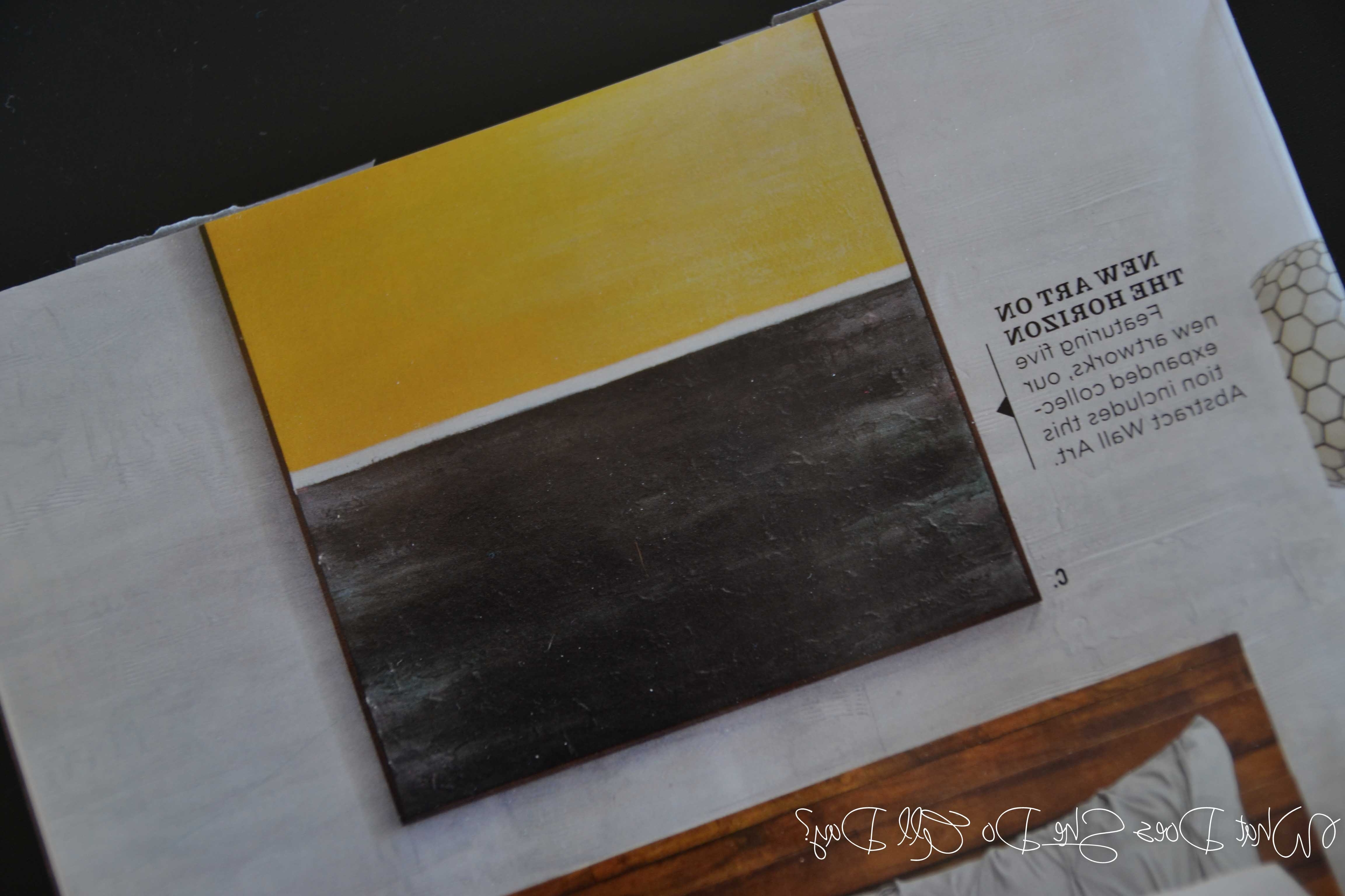 Well Known Abstract Horizon Wall Art Inside West Elm Inspired Textured Art – What Does She Do All Day? (View 8 of 15)