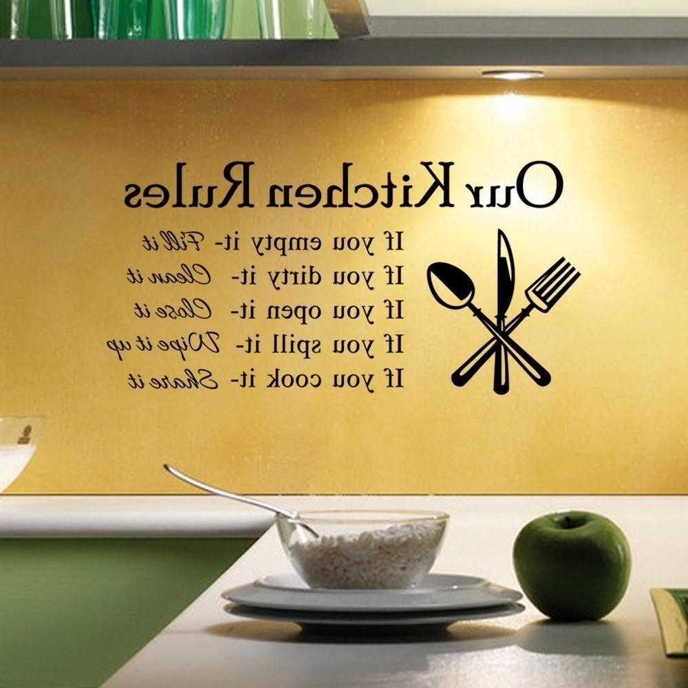 15 Ideas of 3D Wall Art For Kitchen