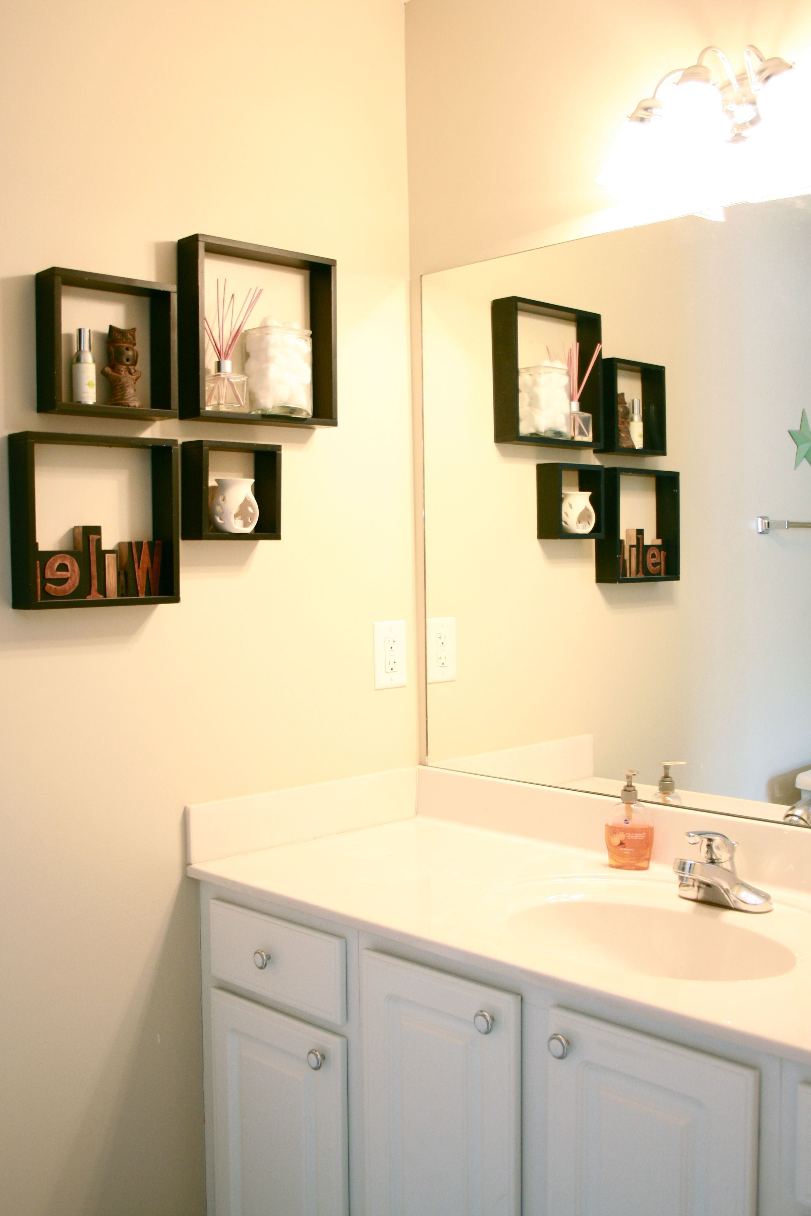 Well Known Attractive Wall Hangings For The Bathroom That Will Make Your Regarding Bathroom Wall Hangings (View 11 of 15)