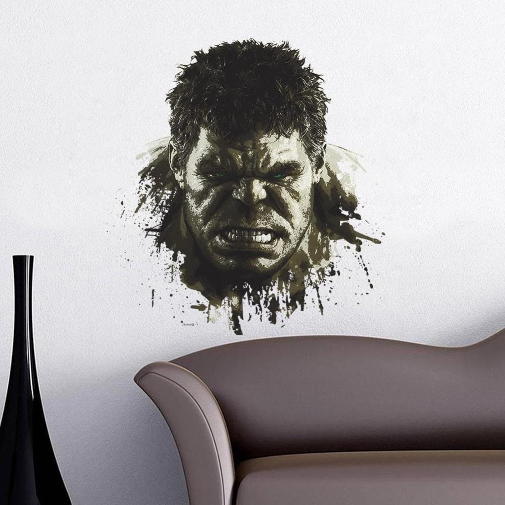 Well Known Avengers 3d Through Wall Stickers Decals Art Children Home Throughout Avengers 3d Wall Art (View 4 of 15)