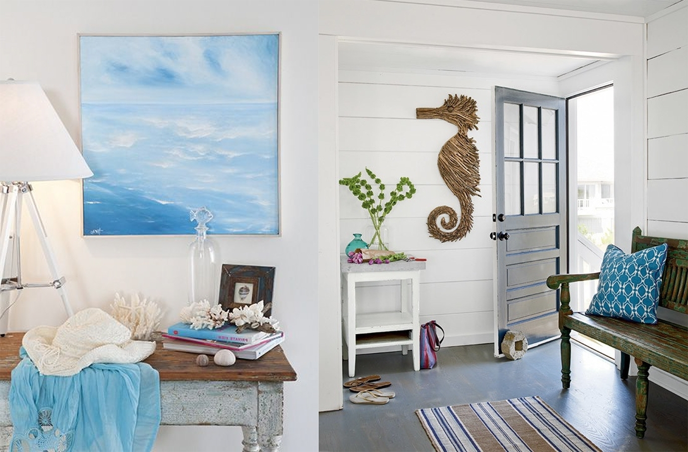 Well Known Beach House Wall Art Ideas • Walls Ideas Within Beach Cottage Wall Art (View 15 of 15)