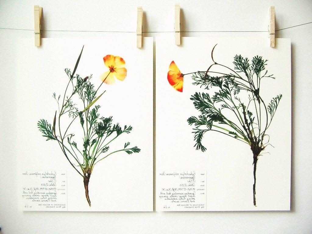 Well Known Best Of Etsy: Botanical Printsday Three Creations – The Neo Trad Throughout Botanical Prints Etsy (View 10 of 15)