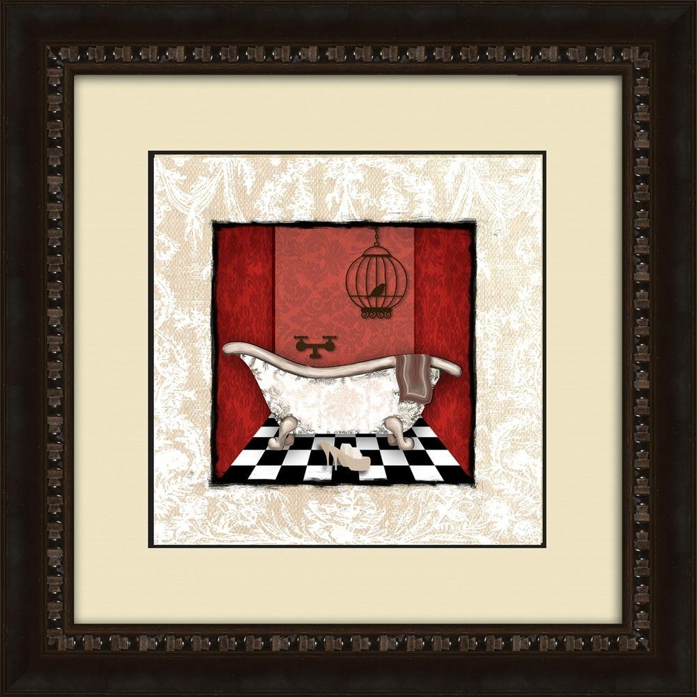 Well Known Brown Framed Wall Art Regarding Ptm Images 17 1/2 In. X 17 1/2 In (View 10 of 15)