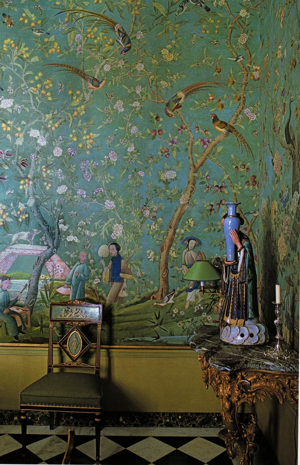 Well Known Chinoiserie, Pierre Berge, Ysl Interiors (View 14 of 15)