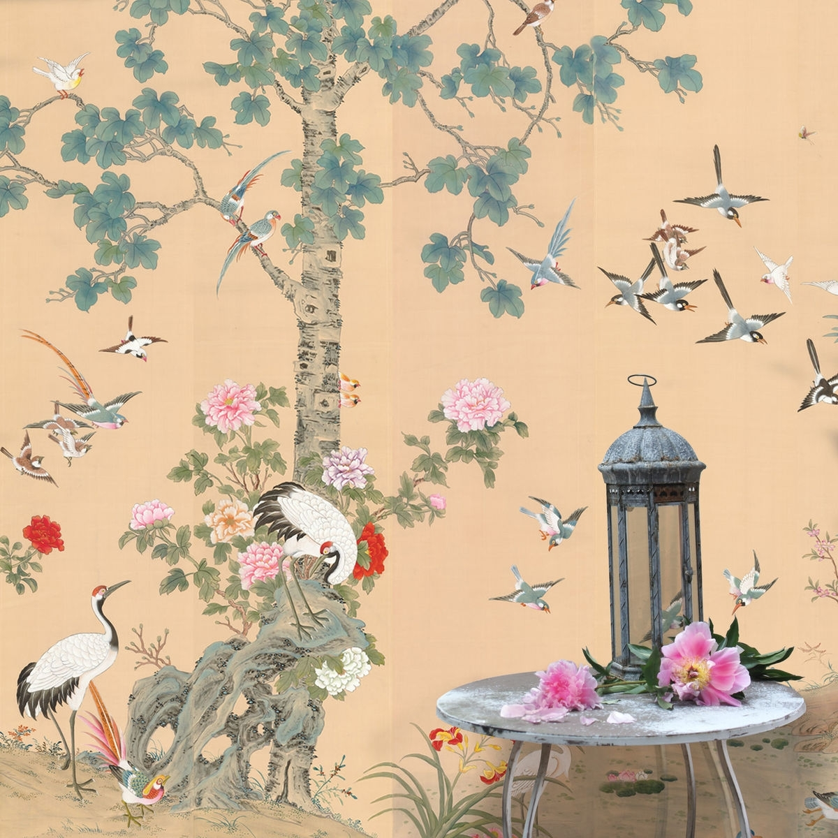 Well Known Chinoiserie Wall Art In Wall Art Ideas Design : Garden Interior Chinoiserie Wall Art (View 15 of 15)