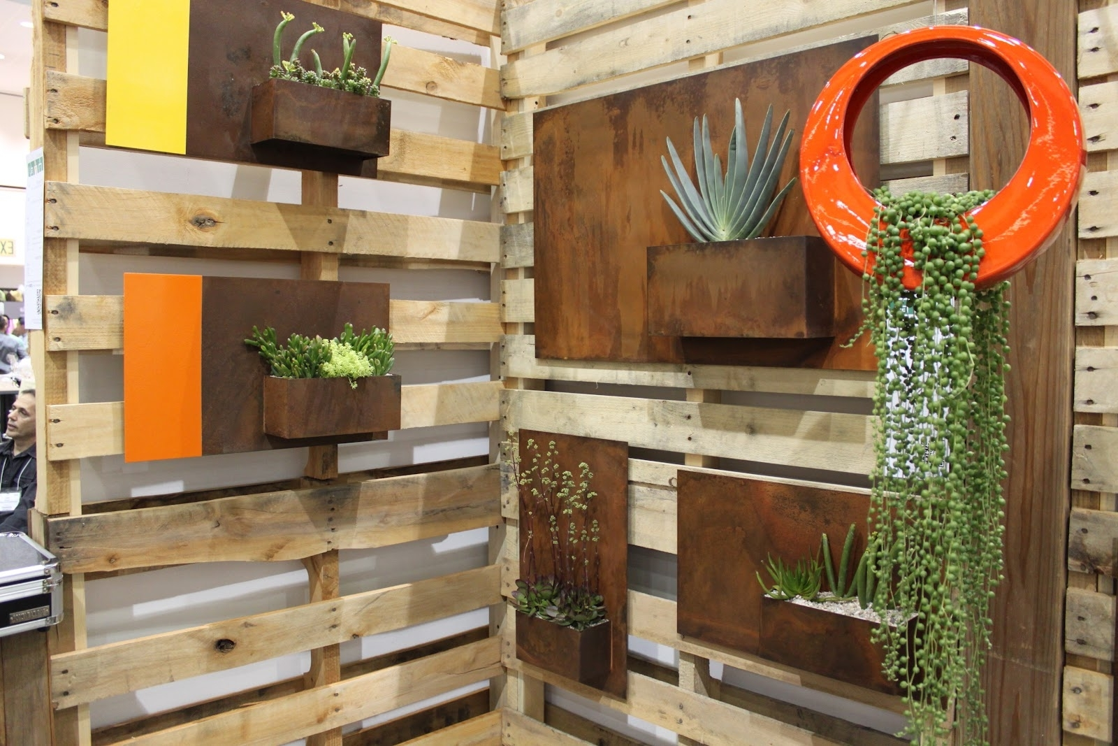 Well Known Contemporary Outdoor Planters Pictures : Modern Contemporary With Regard To Modern Outdoor Wall Art (View 13 of 15)