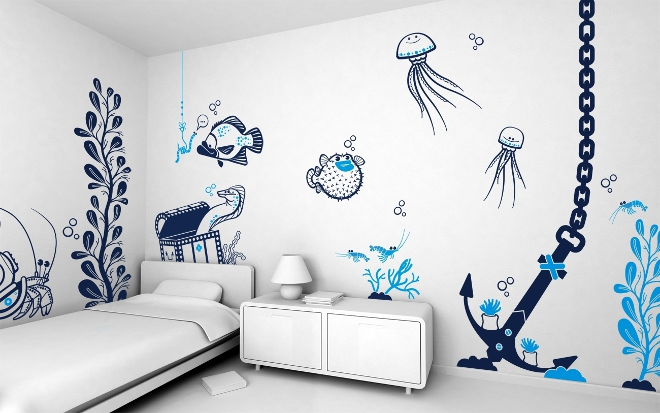 Well Known Cool Wall Art For Teenagers Gallery Also Bedroom Painting Ideas For Wall Art For Teenagers (View 12 of 15)