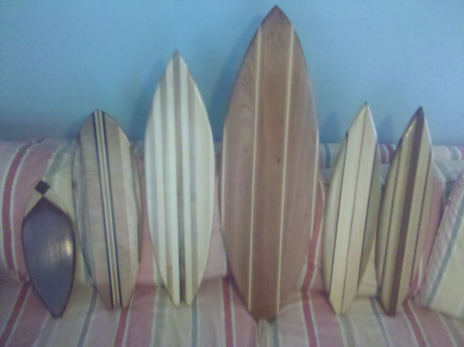 Well Known Custom Made Medium Surfboard Wall Artgood Surf Skateboards With Surf Board Wall Art (View 14 of 15)