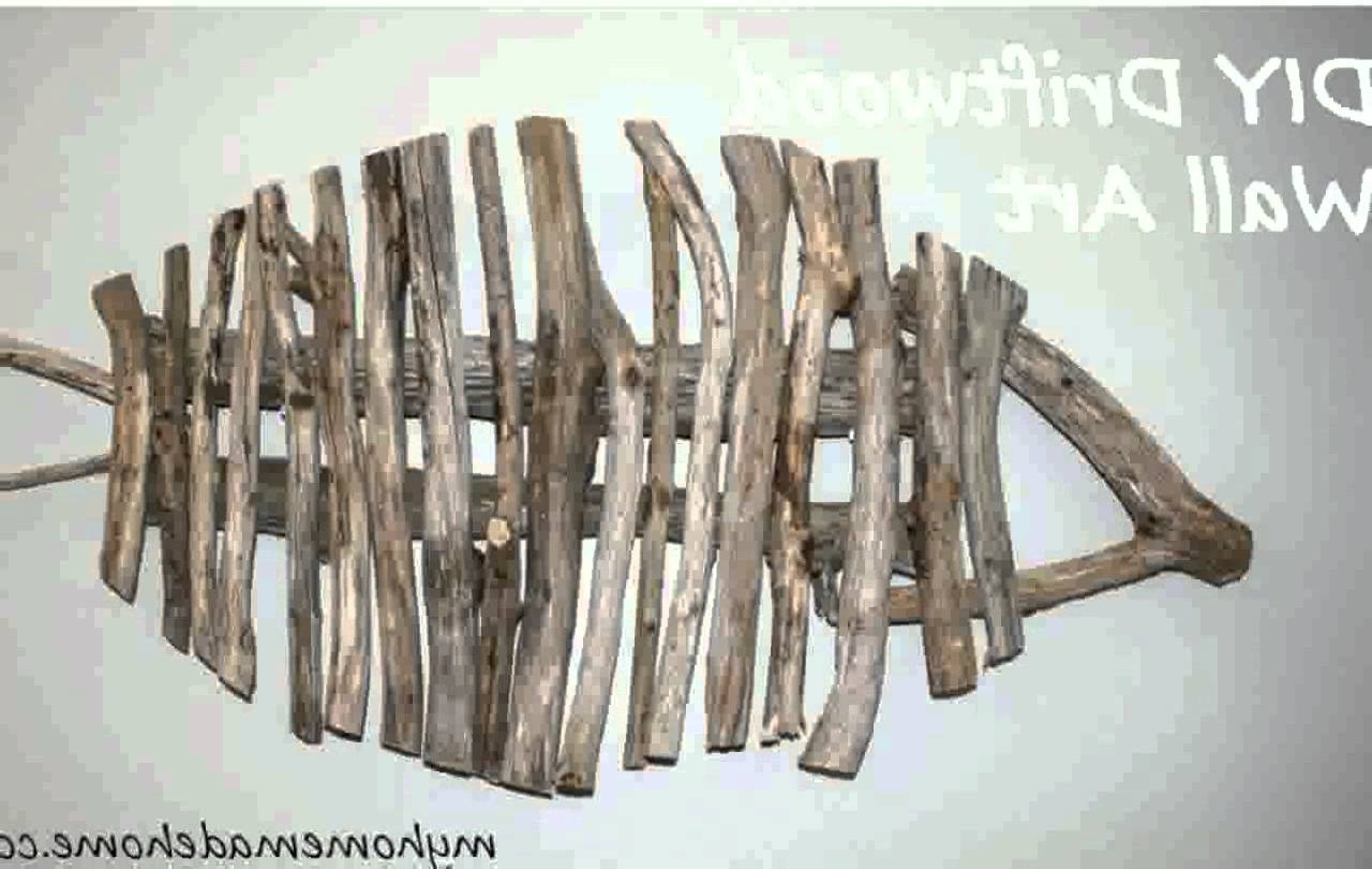 Well Known Driftwood Wall Art With Driftwood Wall Art – Youtube (View 15 of 15)