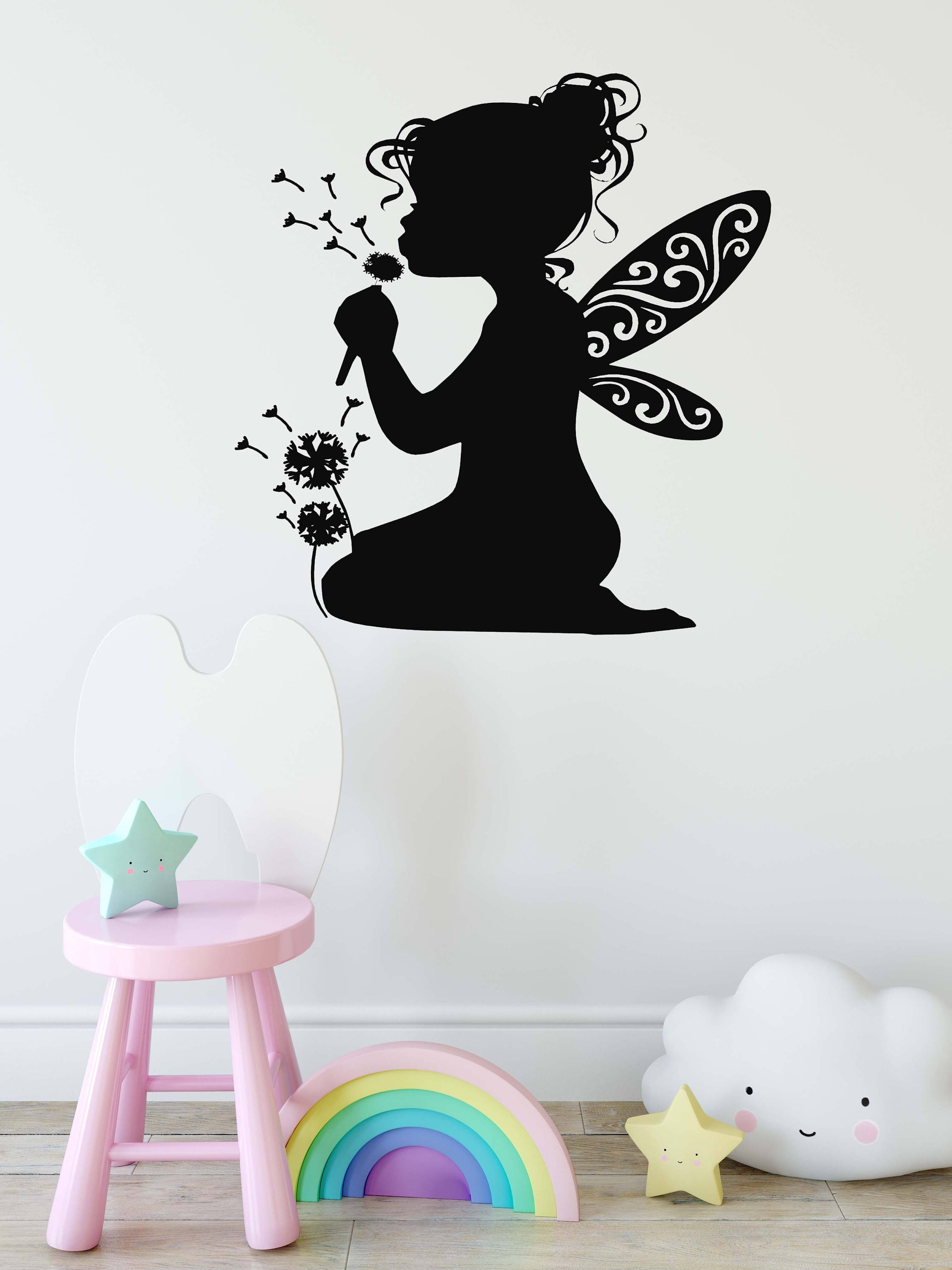 Well Known Fairy Wall Art, Fairy Decor, Little Girls Room Nursery Decor In Wall Art For Little Girl Room (View 12 of 15)