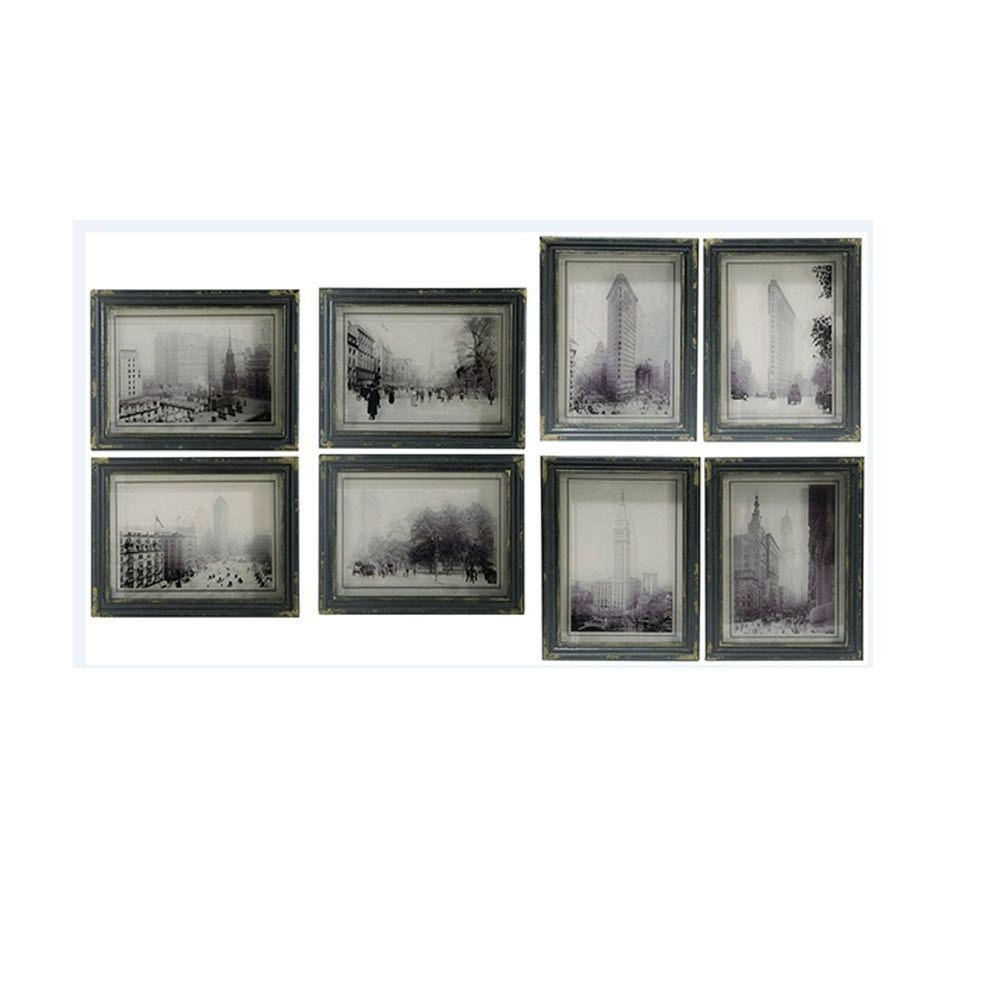 Well Known Framed Art – Art – The Home Depot Within Black And White Framed Wall Art (View 12 of 15)