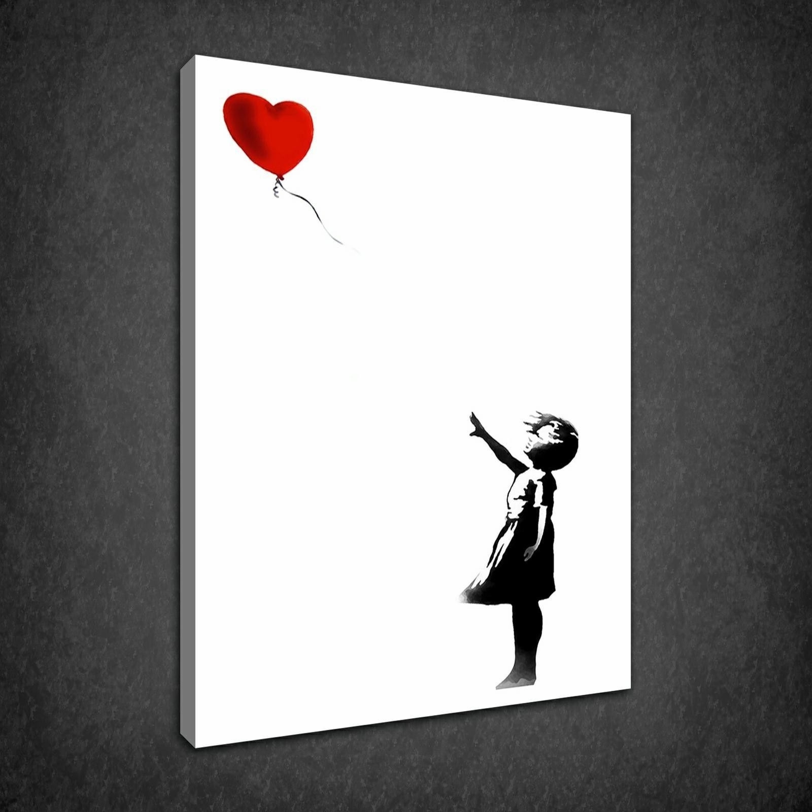 Well Known Girls Canvas Wall Art With Regard To Banksy Archives – Canvas Print Art (View 15 of 15)