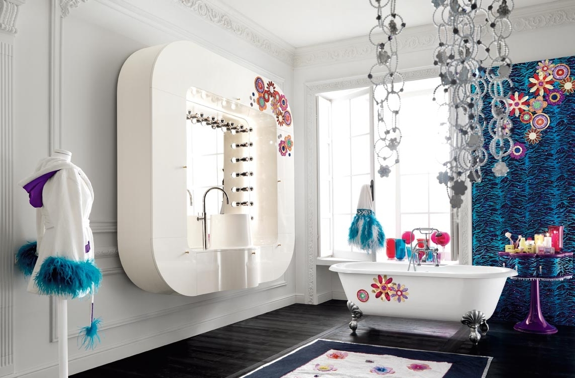 Well Known Glamorous Bathroom Wall Art In Bathroom: Glamorous Bathroom Wall Decor Ideas Bathroom Pictures To (View 13 of 15)