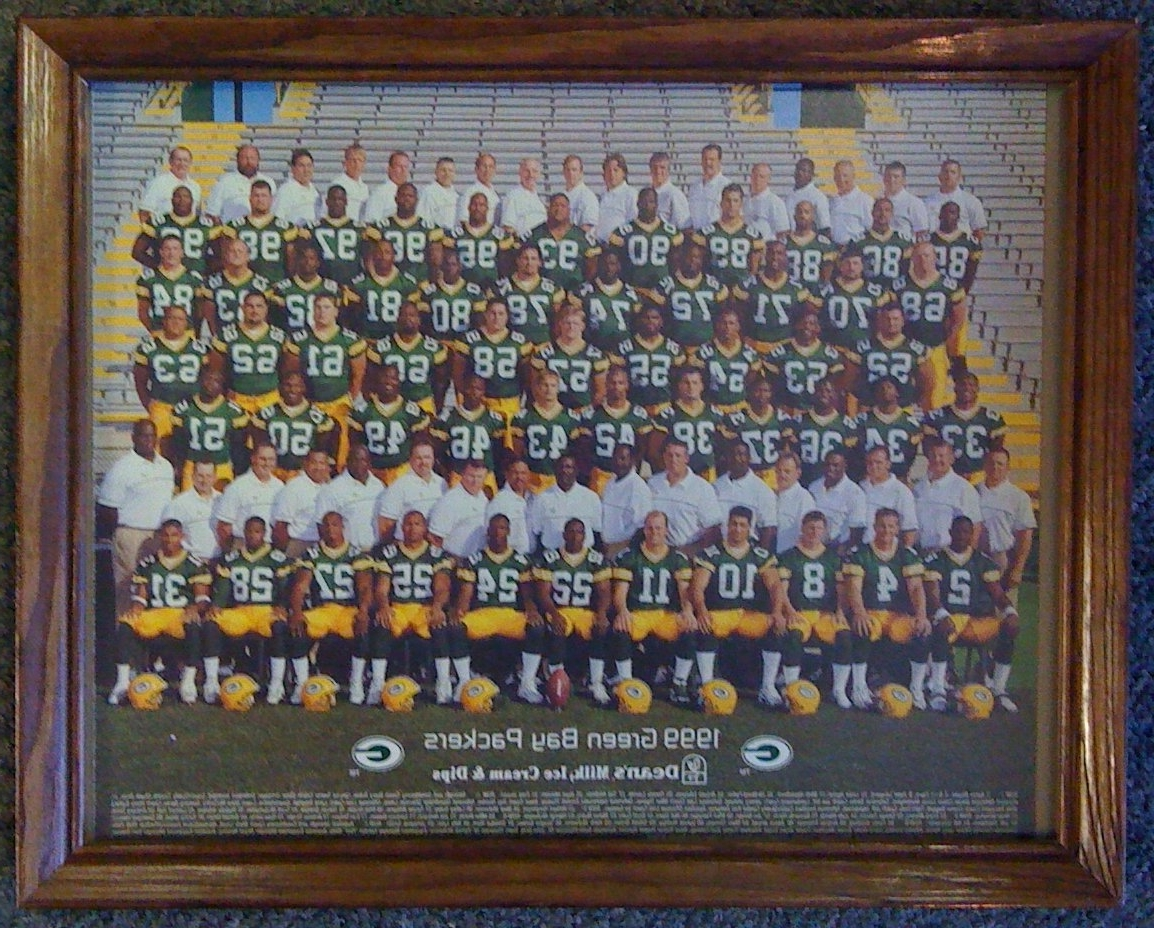 Well Known Green Bay Packers Wall Art With Smncc :: Football :: Posters, Prints :: Green Bay Packers (View 8 of 15)