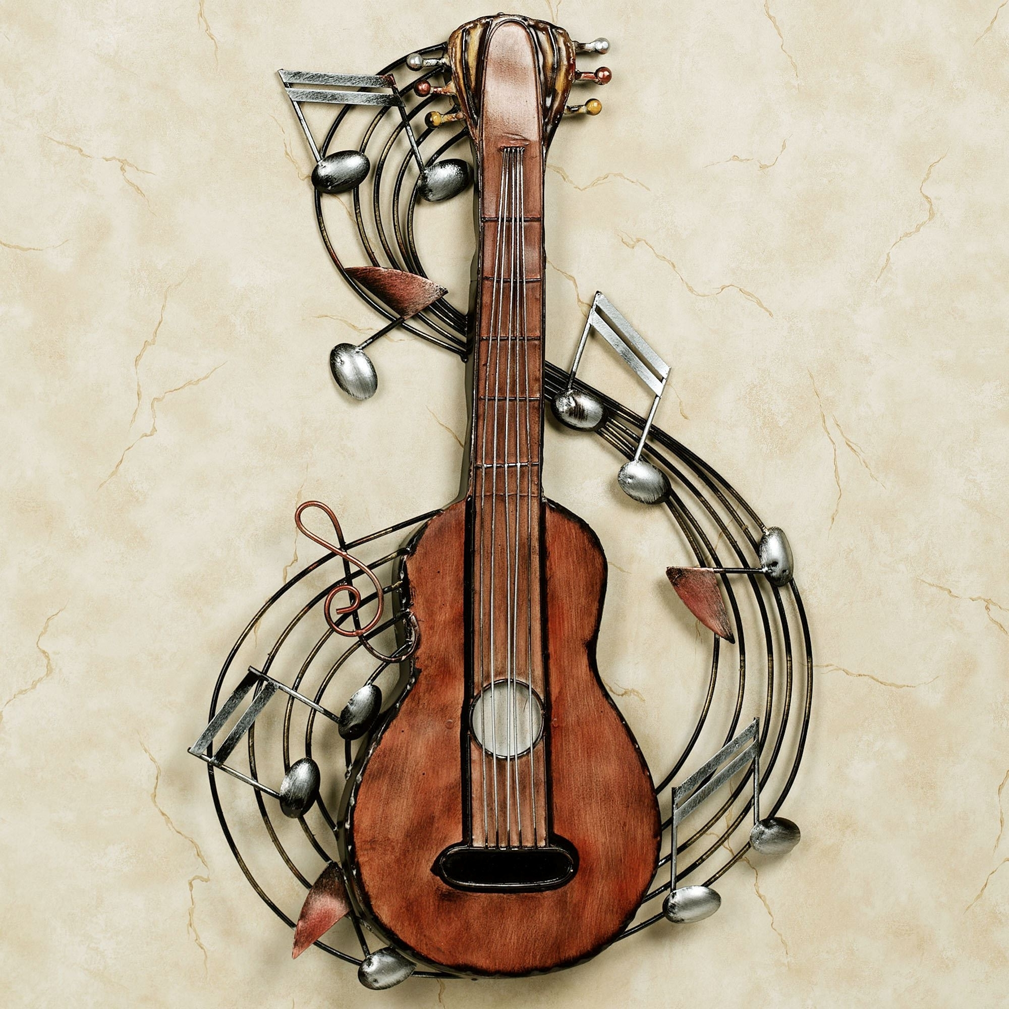 Well Known Guitar Metal Wall Art In Kithara Guitar Metal Wall Art (View 3 of 15)