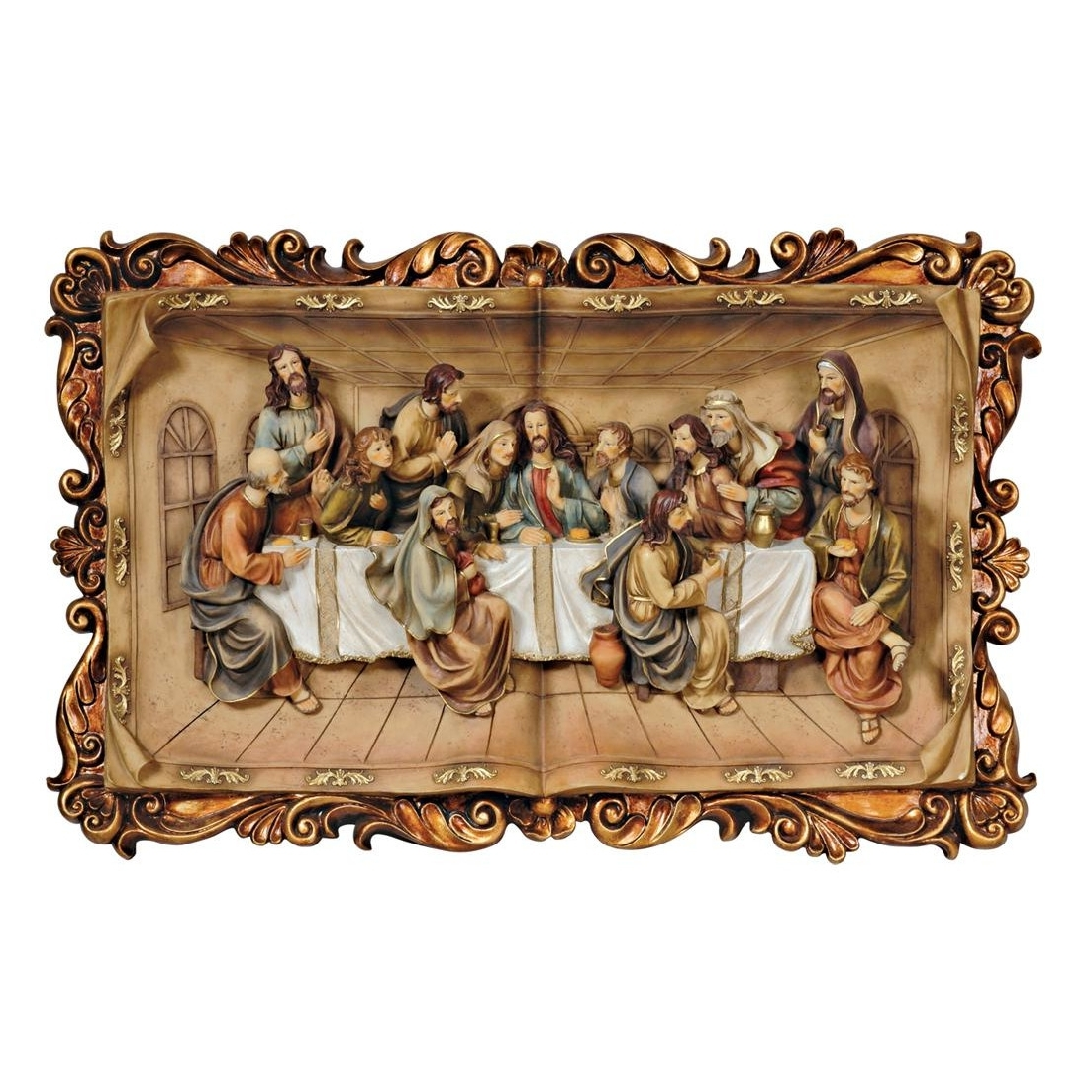 Well Known Images Of Last Supper Wall Decor (View 13 of 15)
