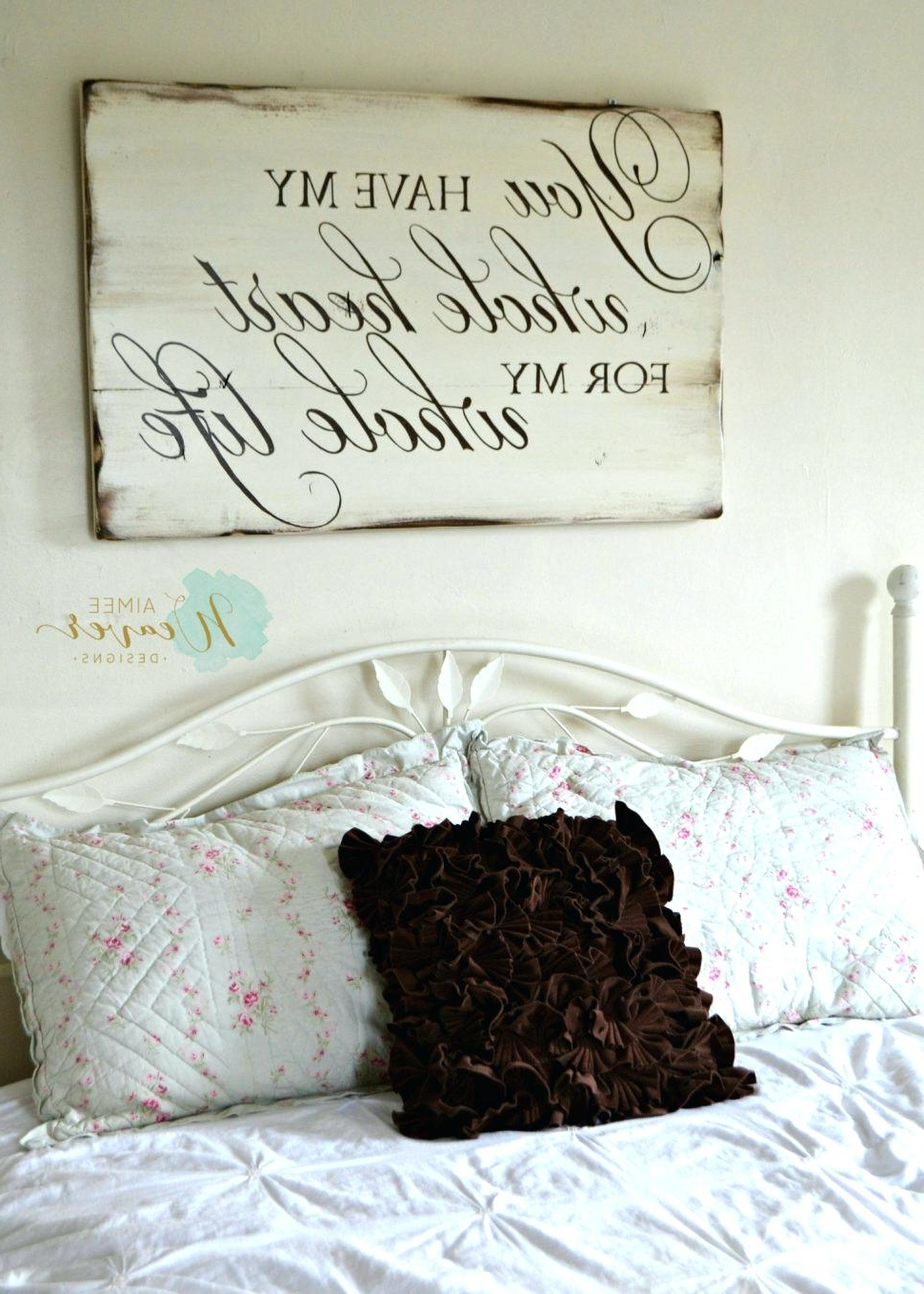 Well Known Inspirational Wall Quote Decals Bedroom Design Amazing Wall Quotes With Regard To Large Inspirational Wall Art (View 15 of 15)