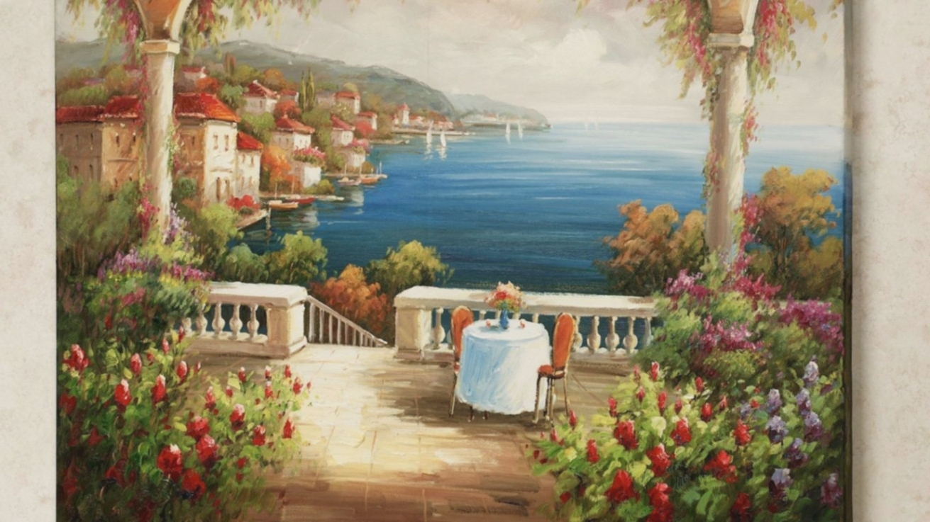 Well Known Italian Art Wall Murals Throughout Seven Quick Tips For Italian Murals (View 4 of 15)