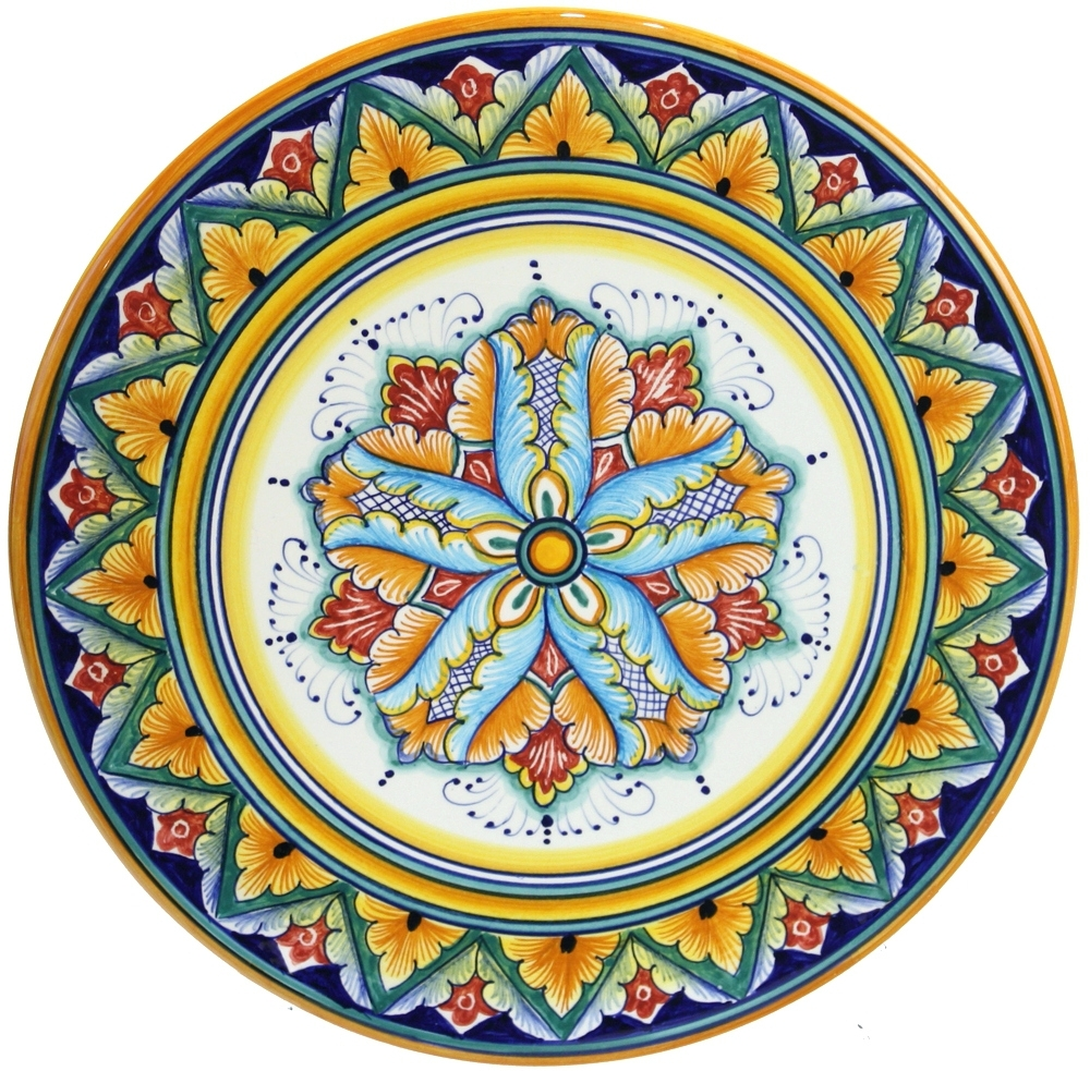 Well Known Italian Ceramic Wall Art For Wall Arts ~ Italian Ceramic Outdoor Wall Art Deruta Italian (View 7 of 15)