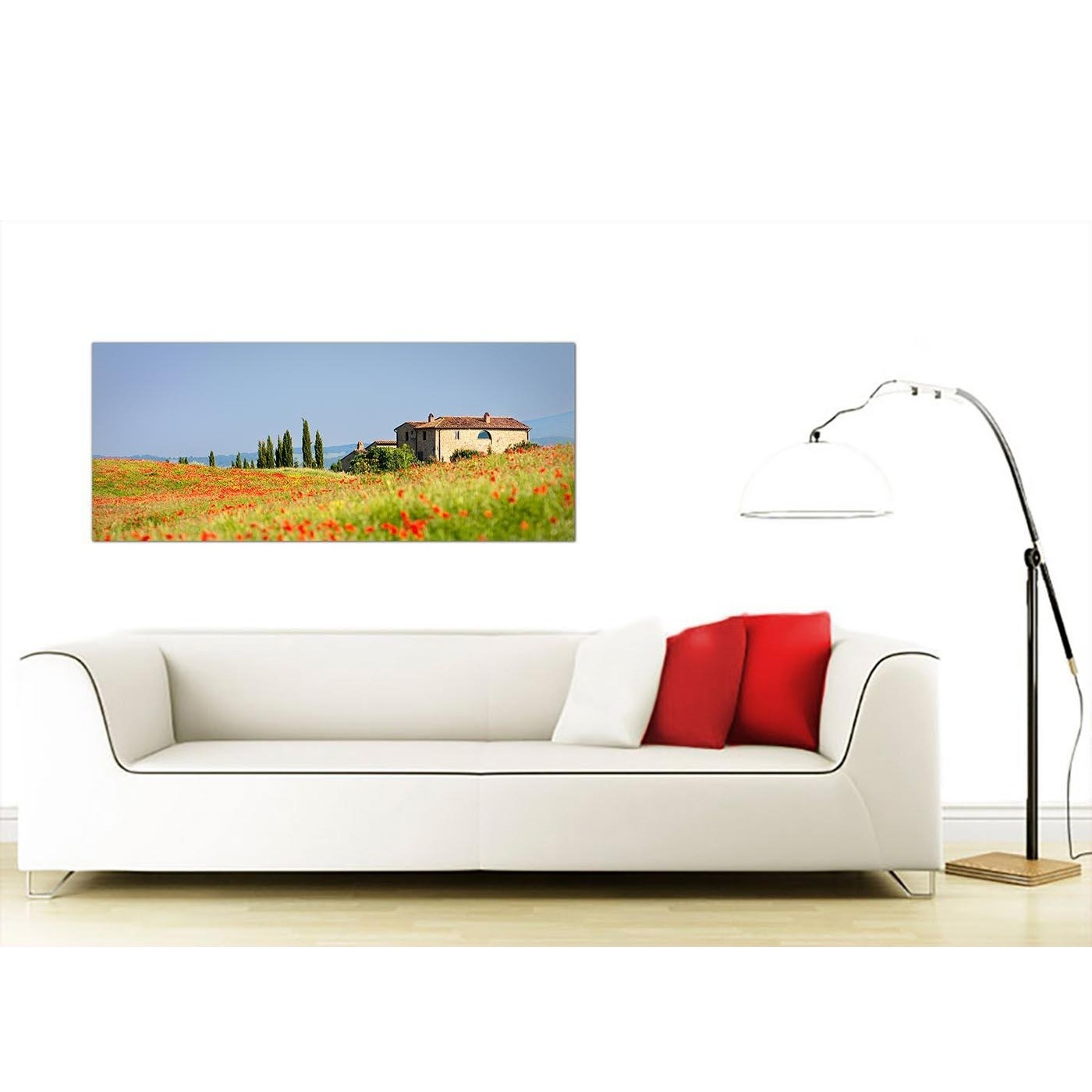 Well Known Italian Scene Wall Art With Regard To Red Tuscany Poppies Canvas Wall Art – Italian Scenes Canvas Print (View 15 of 15)