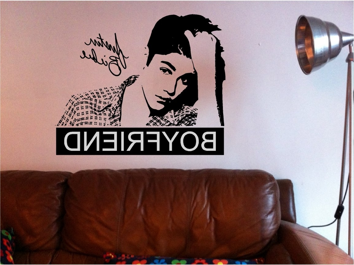 Well Known Justin Bieber Wall Art Inside Justin Bieber House Address Bedroom Room Ideas Decorations Decor (View 14 of 15)