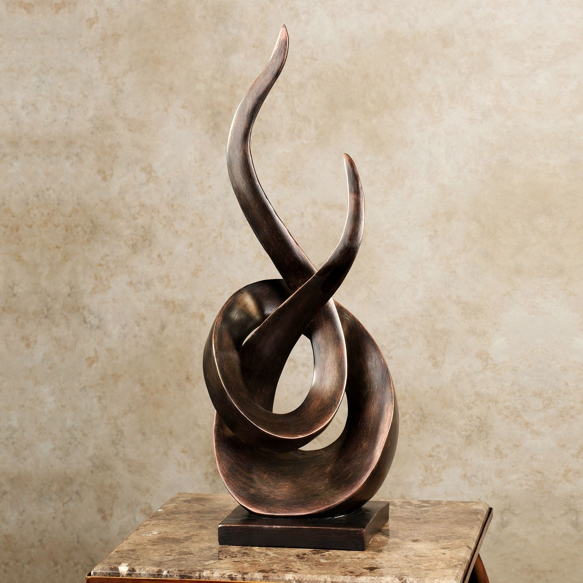 Well Known Kindred Abstract Metal Wall Art Pertaining To Contemporary And Abstract Sculptures And Figurines (View 10 of 15)