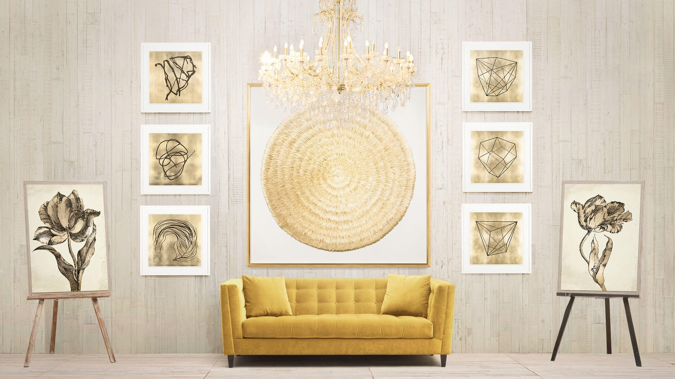 Explore Gallery of Silver And Gold Wall Art (Showing 7 of 15 Photos)