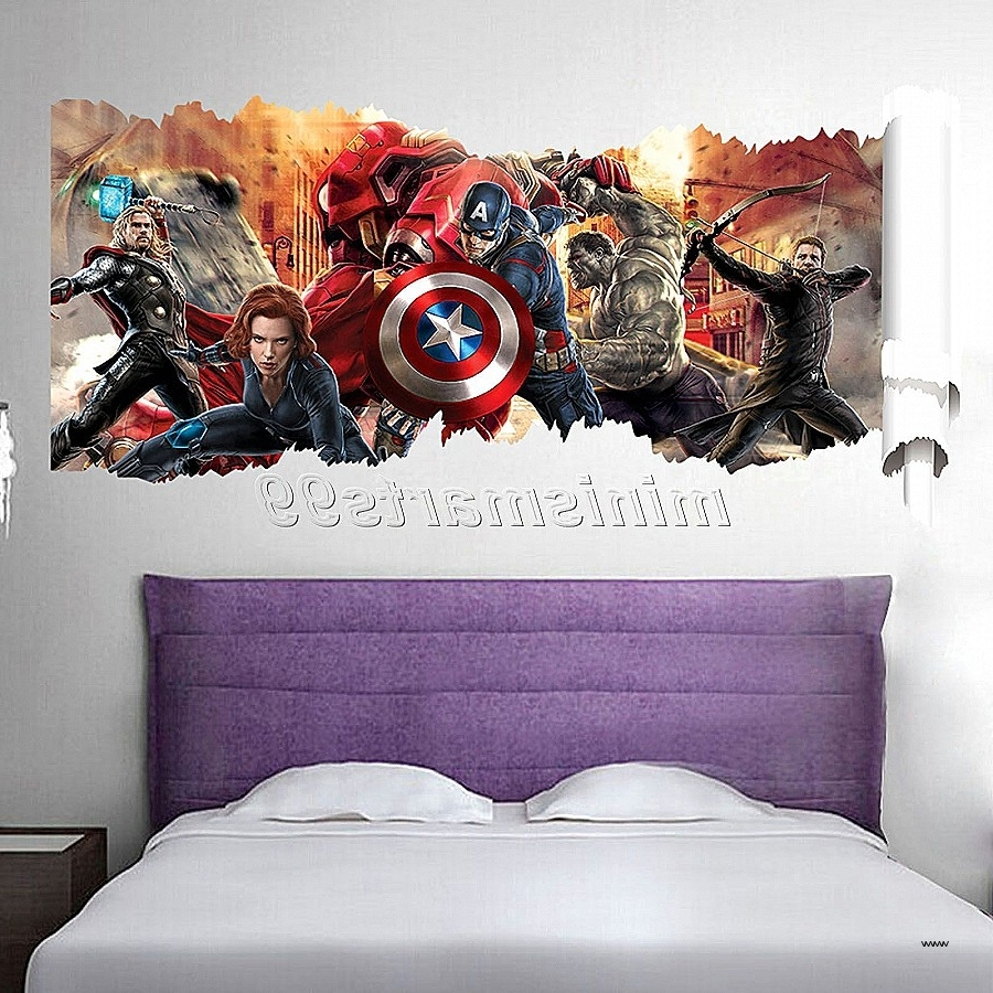 Well Known Marvel 3D Wall Art Inside Wall Art New Iron Man 3D Wall Art Hd Wallpaper Photos The Avengers (View 15 of 15)