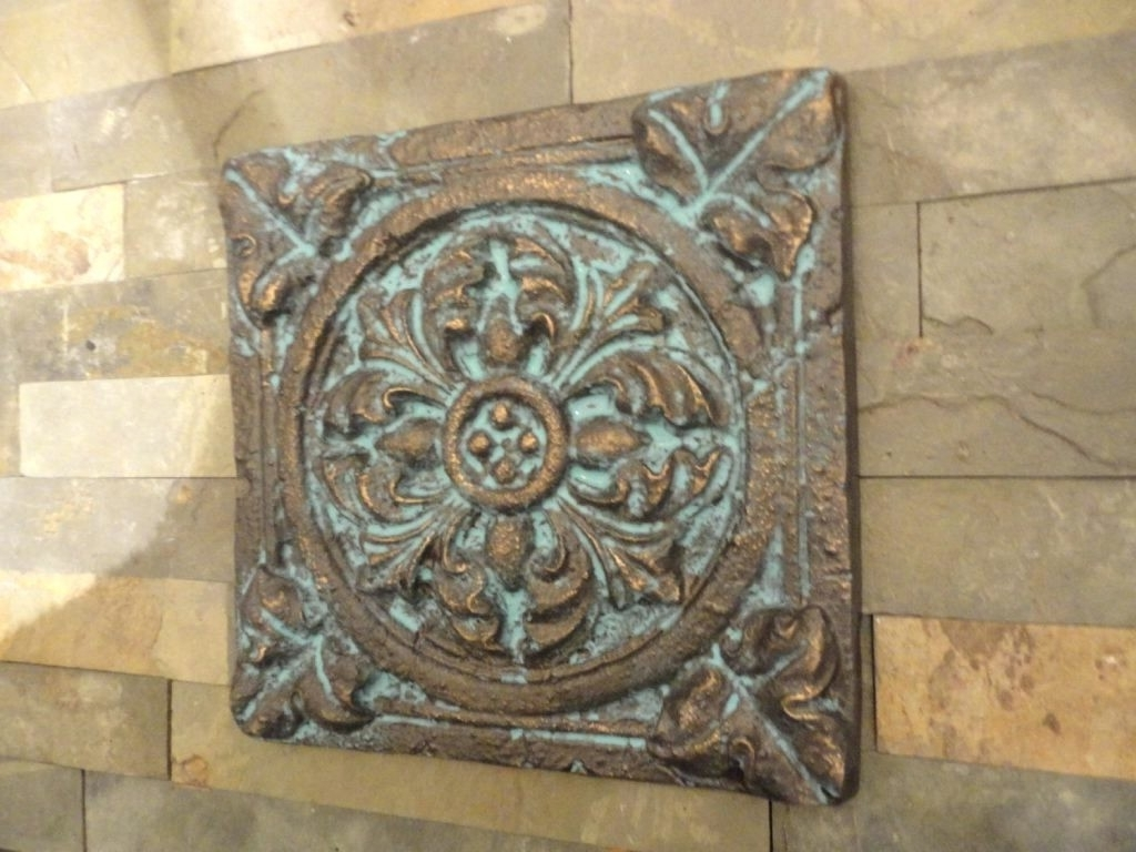 Well Known Medallion Tiles Wall Art Pertaining To Medallion Wall Decor (View 15 of 15)