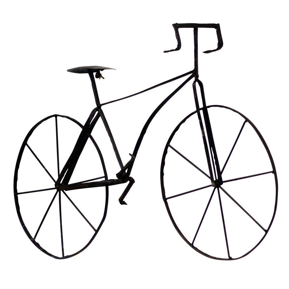 Well Known Metal Bicycle Wall Art Within Home Decorators Collection 39.5 In (View 14 of 15)