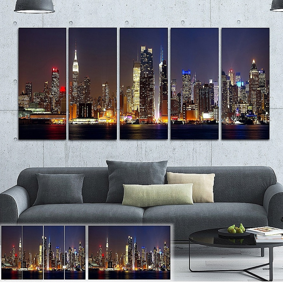 Well Known Metal Wall Art New York City Skyline Beautiful Michael Tompsett With Metal Wall Art New York City Skyline (View 15 of 15)