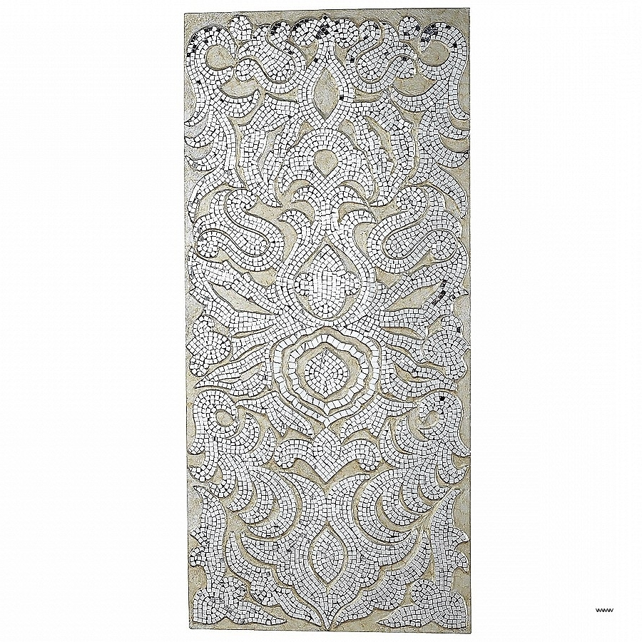 Well Known Mother Of Pearl Wall Art Best Of Champagne Mirrored Mosaic Damask Pertaining To Mother Of Pearl Wall Art (View 2 of 15)