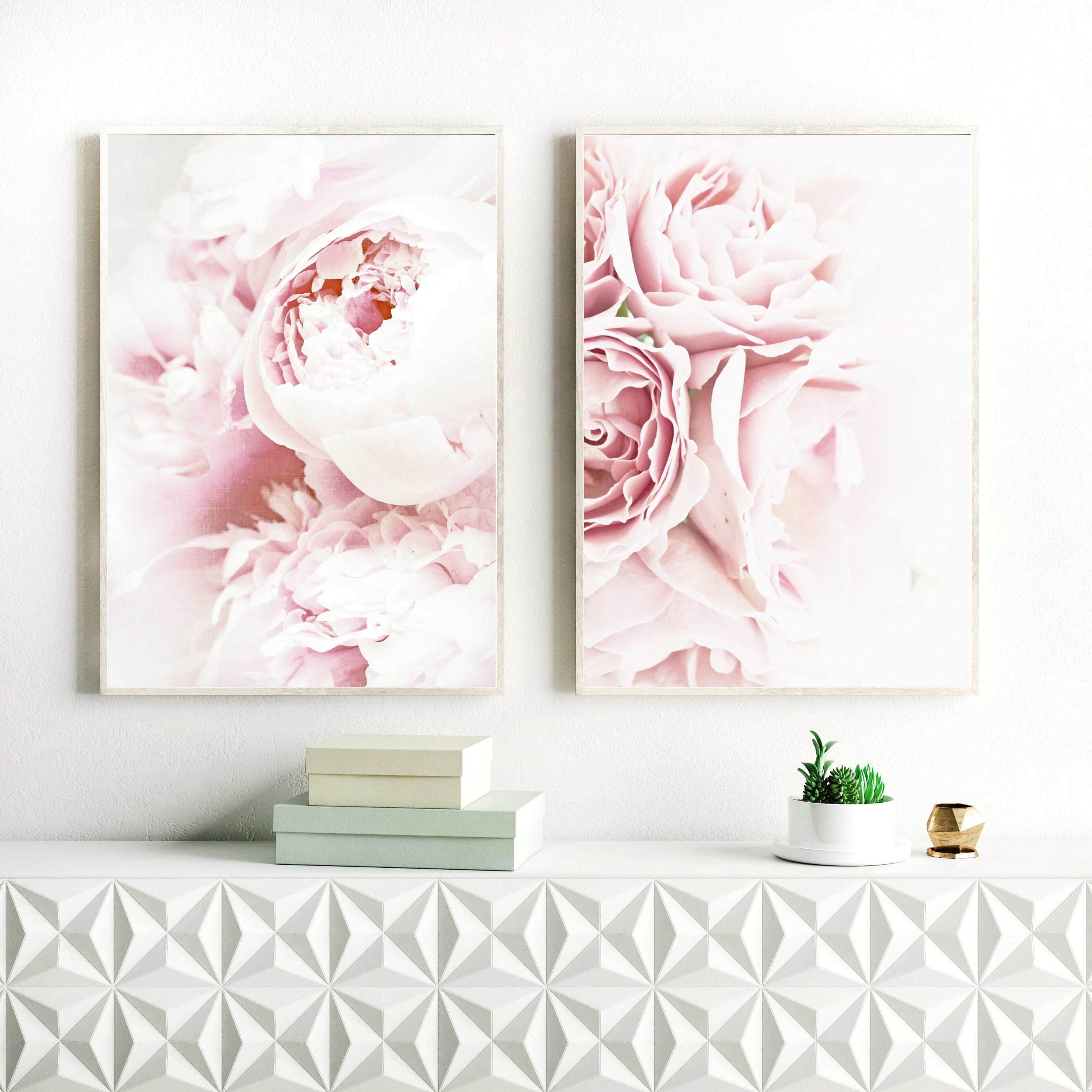 Well Known Peony Print, Flower Print Sets For Nursery, Kids Room, Nursery Inside Pink Flower Wall Art (View 13 of 15)