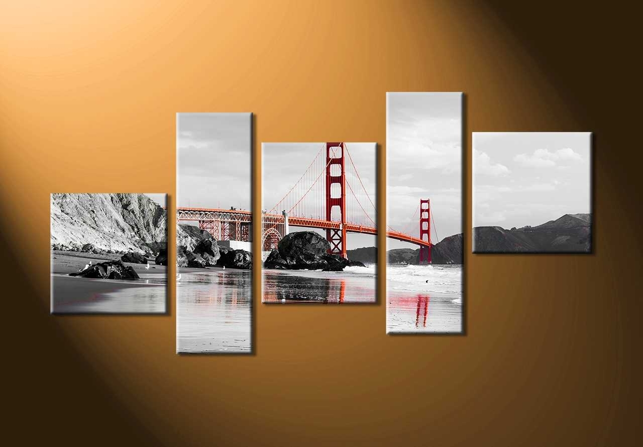 Well Known Piece Canvas Wall Art – Rpisite With Five Piece Wall Art (View 13 of 15)