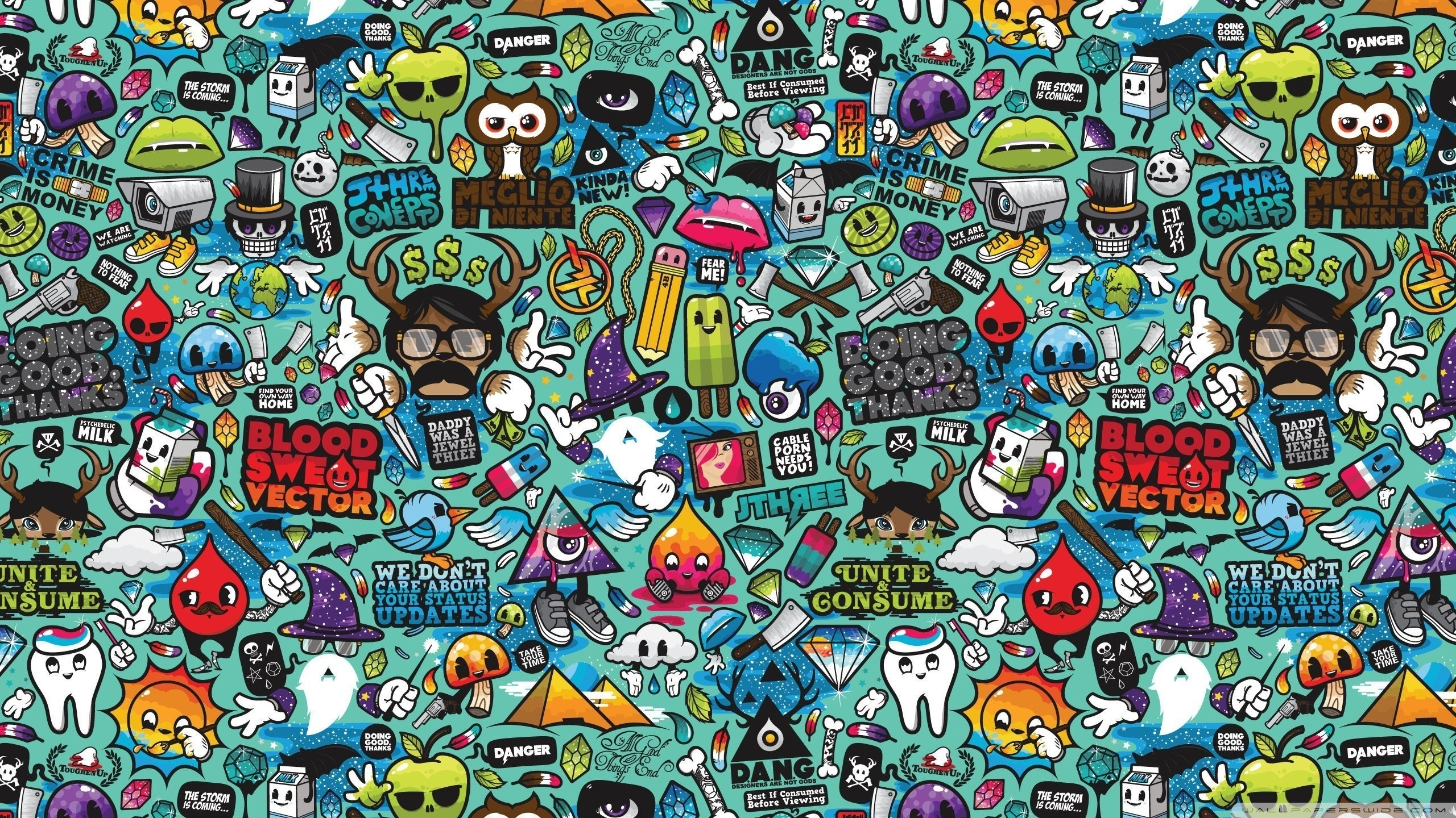 Well Known Pop Art Wallpapers (60+ Images) Throughout Pop Art Wallpaper For Walls (View 11 of 15)