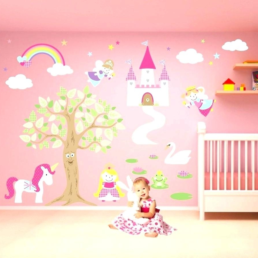 Well Known Princess Canvas Wall Art In Disney Princess Wall Decals For Kids Rooms Wall Ideas Princess (View 14 of 15)