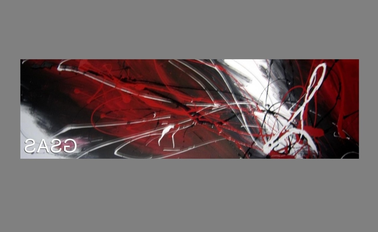 Well Known Red And Black Canvas Wall Art Inside Uncategorized : Black White And Red Wall Art With Amazing Black (View 15 of 15)