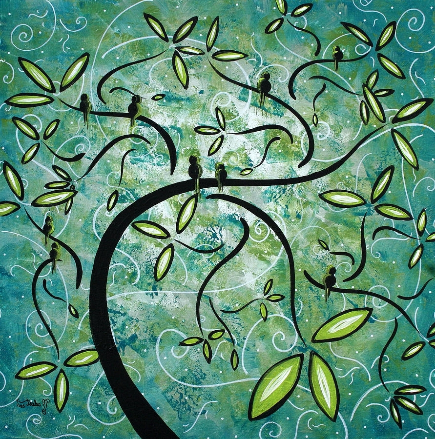 Well Known Spring Shinemadart Paintingmegan Duncanson Intended For Megan Duncanson Metal Wall Art (View 5 of 15)