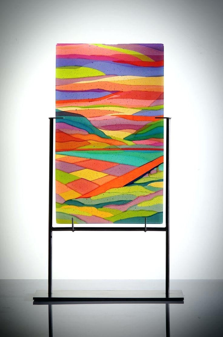 Well Known Stained Glass Wall Art Panels Best Fused Glass Artsy Images On In Fused Glass Wall Art Hanging (View 4 of 15)
