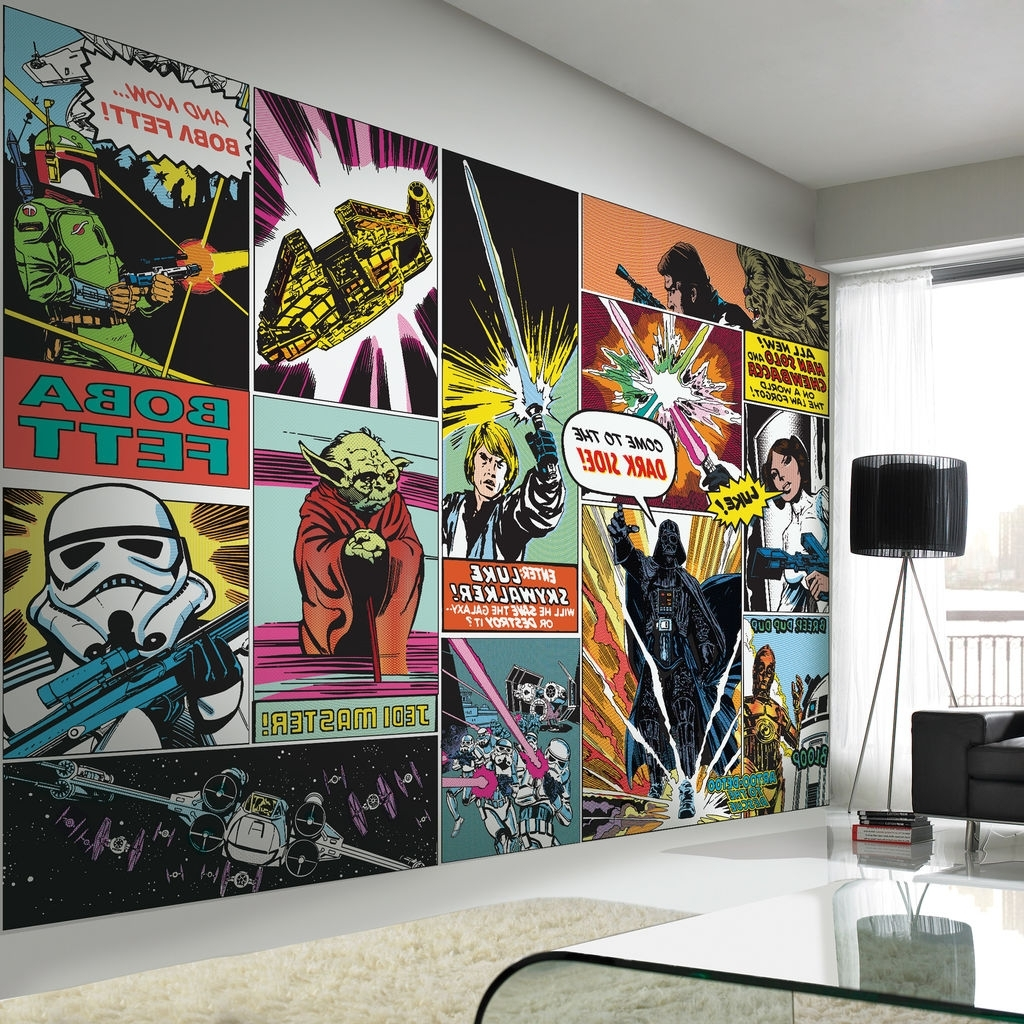 Well Known Stickers : Lego Star Wars Wall Murals45 Best Star Wars Room Ideas With Lego Star Wars Wall Art (View 14 of 15)